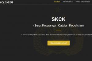Cara membuat skck secara online dengan mudah